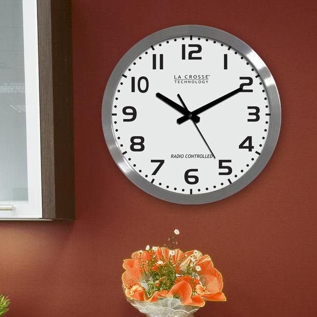 WT-3161WHX1 16 inch Atomic Wall Clock