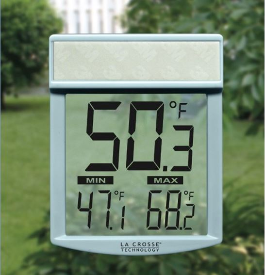 WT-62U Outdoor Window Thermometer