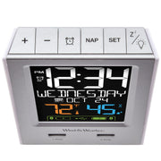 WW85760 Alarm Clock Charging Station with Two USB Charging Ports