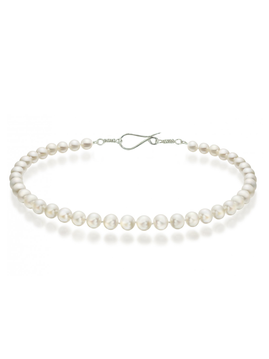 Freshwater Pearl Necklace Silver Clasp