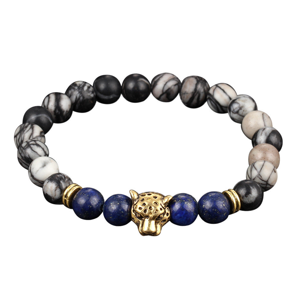 Buddha Head Gold Bracelet