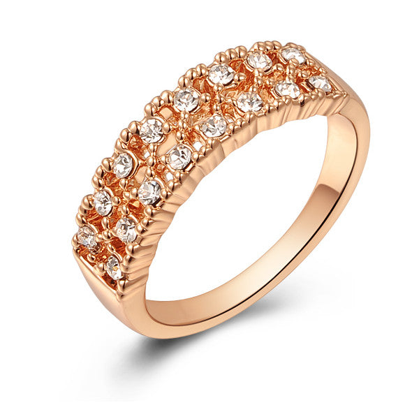 18K Gold Plated Precious Promise Ring