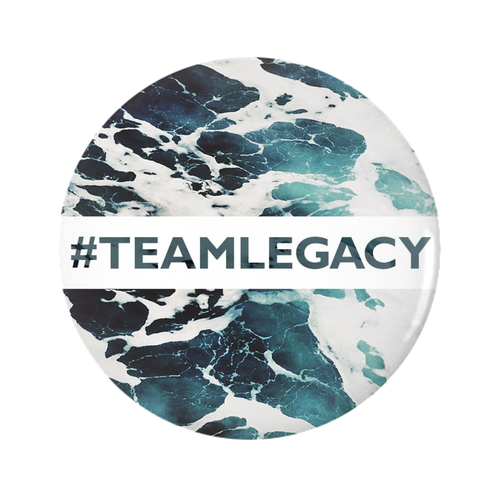 Button Pin - #TeamLegacy