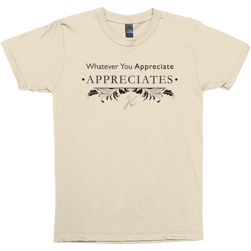 Shirt - Whatever You Appreciate Appreciates