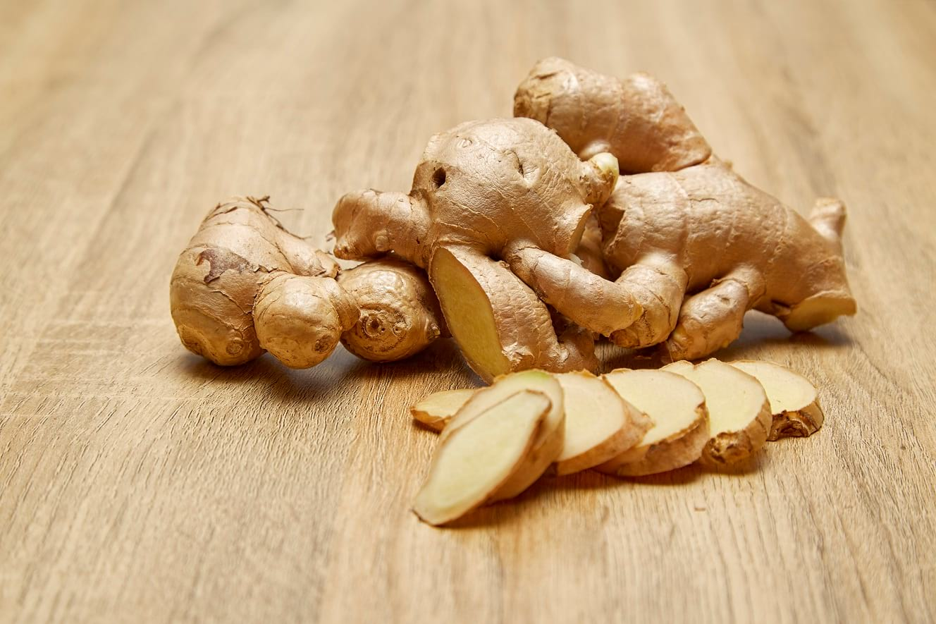 Benefits of ginger on skin