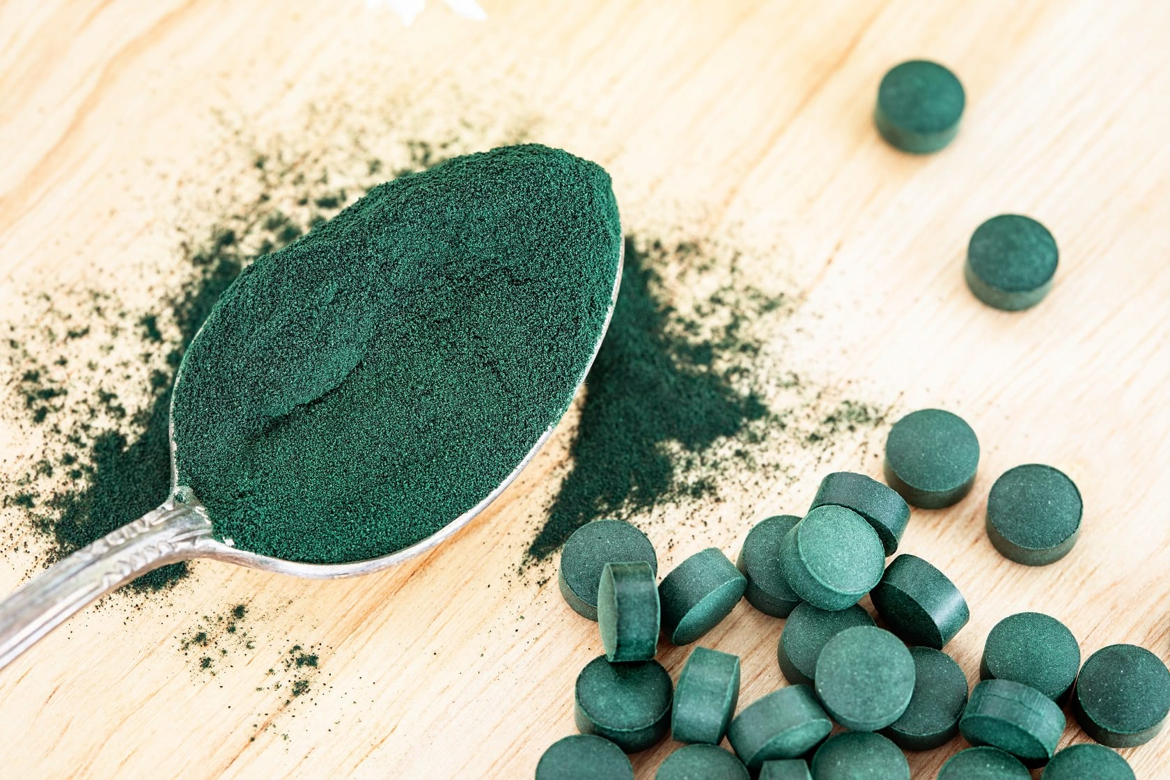 Benefits of Spirulina on Skin