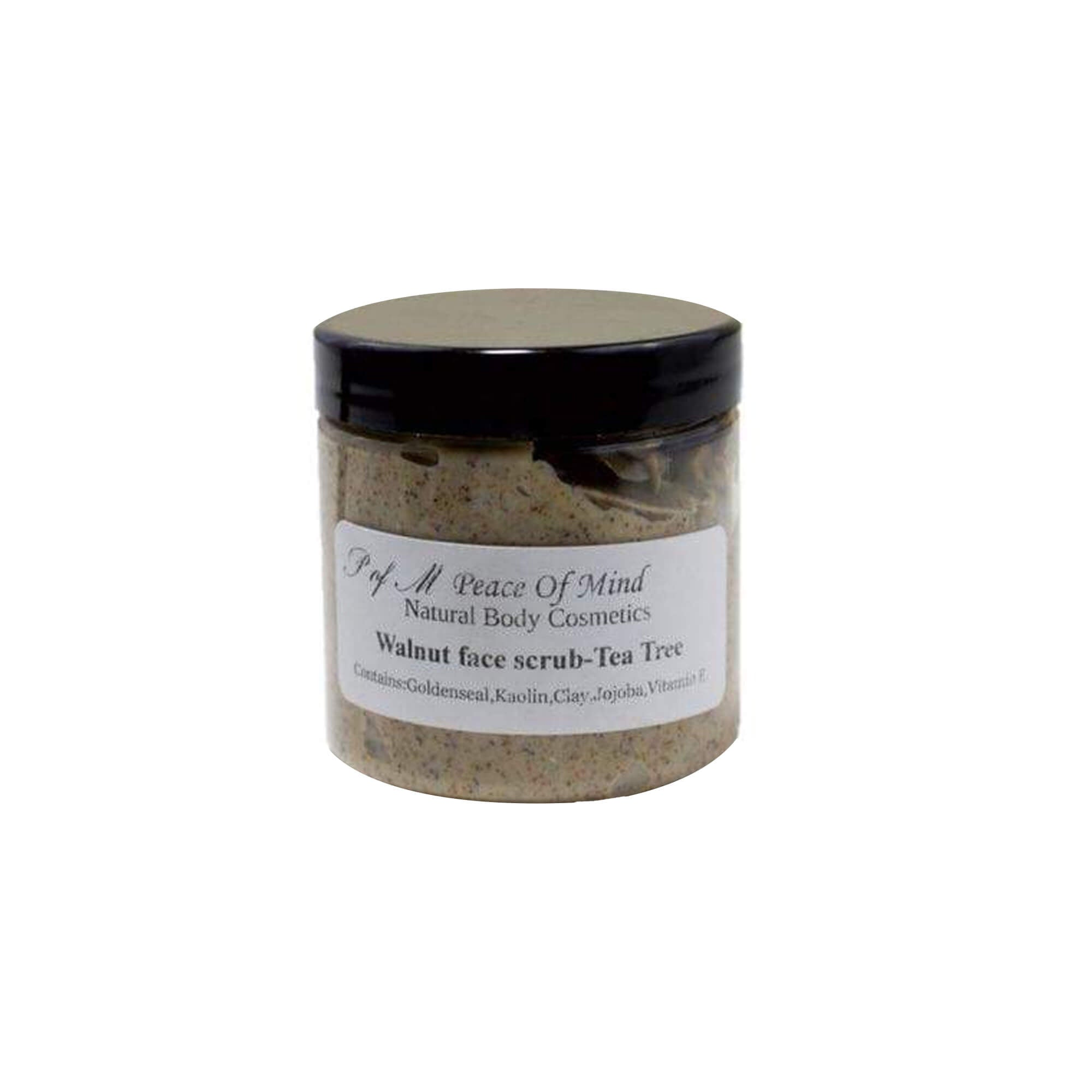 Walnut Tea Tree Face Scrub