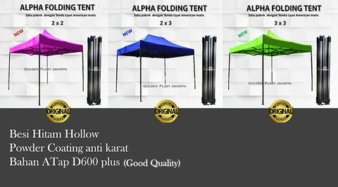 Tenda Lipat Alpha Matic