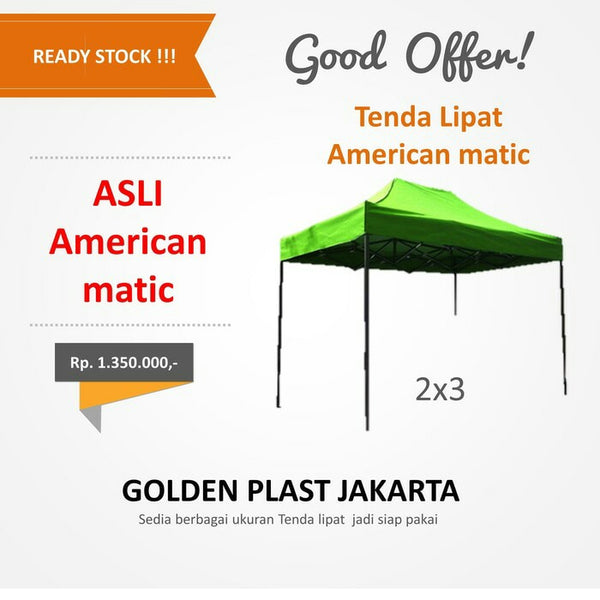 Tenda American Matic 2x3