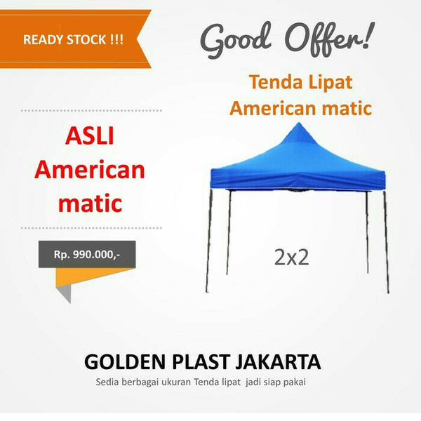 Tenda American Matic 2x2