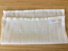 Load image into Gallery viewer, 100% Organic cotton, cleansing cloth (pack of 3). GOTS certified.