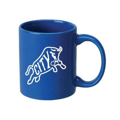Durham Bulls Royal Bull City Coffee Mug