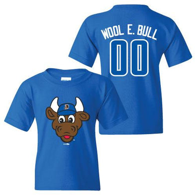 Durham Bulls Toddler Royal Wool E. Bull T-Shirt