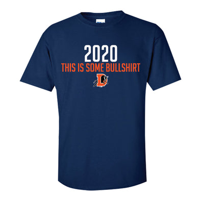"Durham Bulls Navy 2020 ""This is some BULLSHIRT"" T-Shirt"