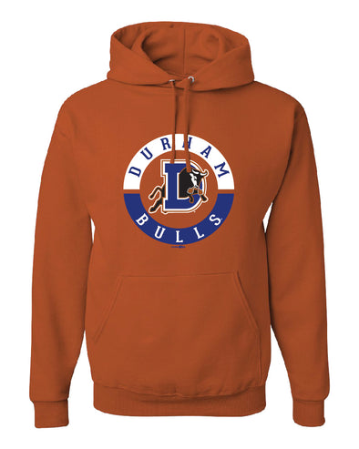 Durham Bulls Burnt Orange Format Hood Sweatshirt