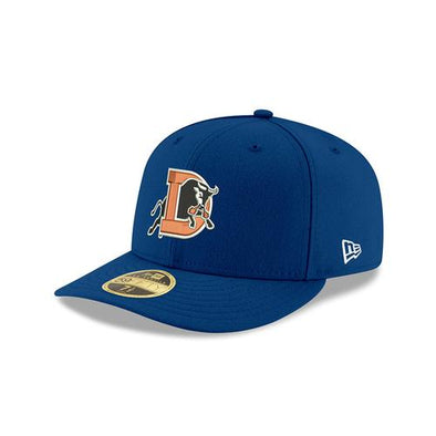 Durham Bulls New Era Home Low Crown Fitted 5950