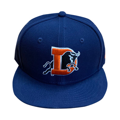 Durham Bulls New Era Bull City Blues Fitted 5950
