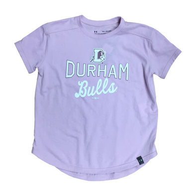 Durham Bulls UA Youth Pink Performance T-Shirt