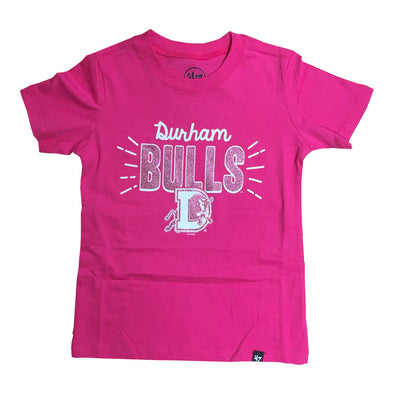 Durham Bulls 47 Brand Youth Super Sparkle T-Shirt