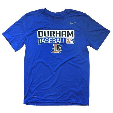Durham Bulls Nike Royal Legend 237 T-Shirt