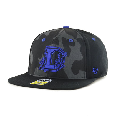 Durham Bulls 47 Brand Youth Free Throw Snapback Captain