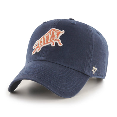 Durham Bulls 47 Brand Navy Mclean Bull City Clean Up