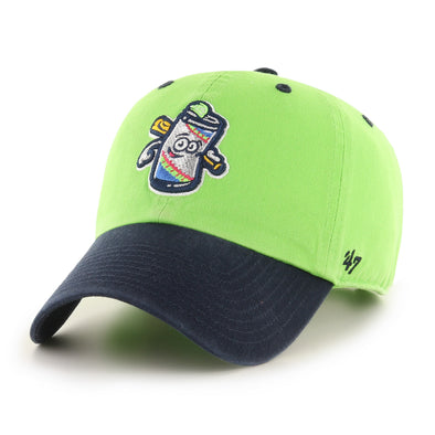 Durham Bulls 2020 Cervezas de Durham 47 Brand Two Tone Clean Up