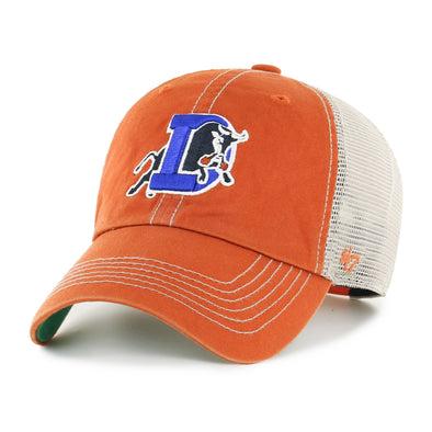 Durham Bulls 47 Brand Burnt Orange Snapback Trawler