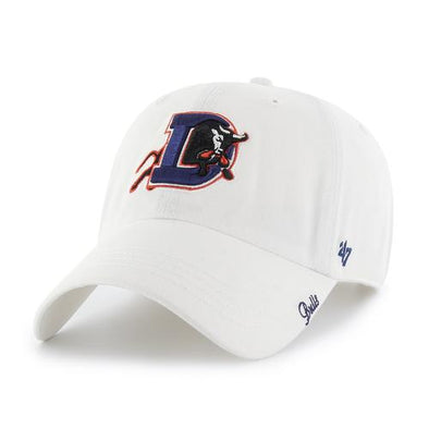 Durham Bulls 47 Brand Womens White Miata Clean Up