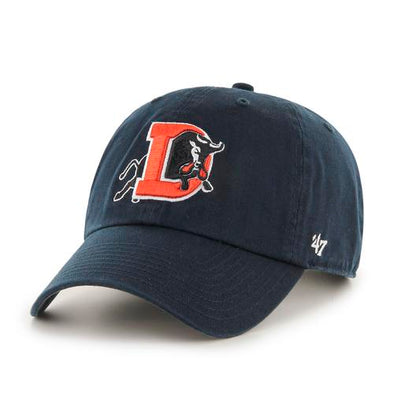 Durham Bulls 47 Brand Navy Clean Up