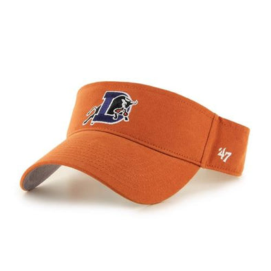 Durham Bulls 47 Brand Burnt Orange Visor