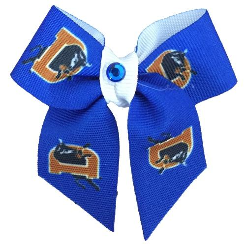 Durham Bulls Pet Bow Clip