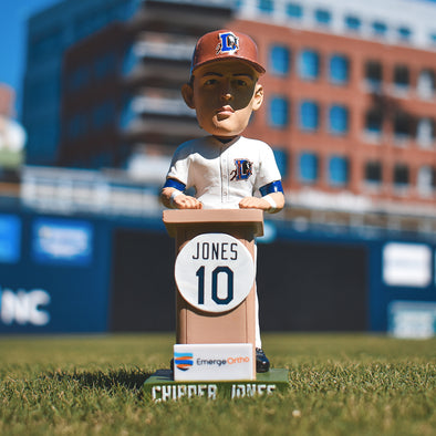 Durham Bulls Custom Chipper Jones Bobblehead