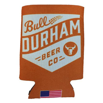 Durham Bulls Bull Durham Beer Company Burnt Orange Koozie
