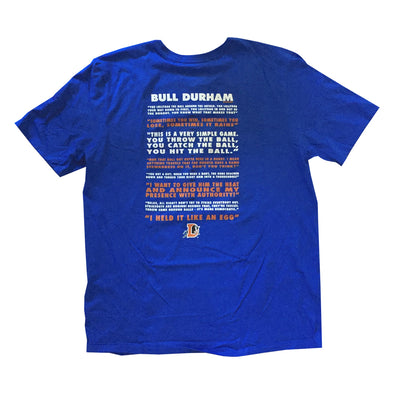 Bull Durham Quotes T-Shirt