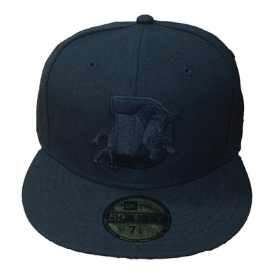 Durham Bulls New Era Black Fitted 5950