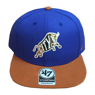 Durham Bulls 47 Brand Chrome Captain