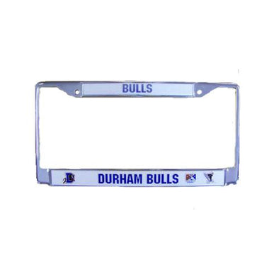 Durham Bulls Chrome Front License Cover