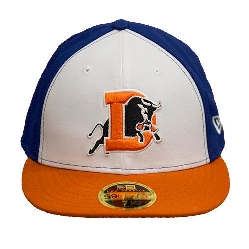 Durham Bulls New Era Alternate Low-Profile Fitted 5950