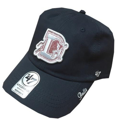 Durham Bulls 47 Brand Womens Sugar Navy Clean Up