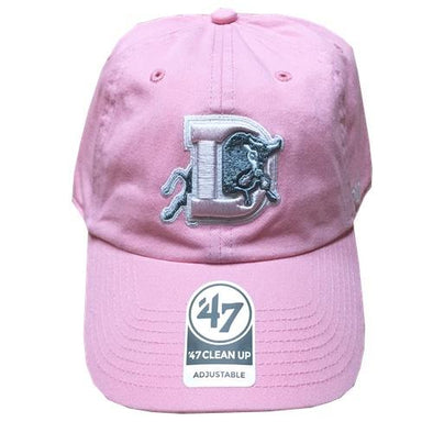 Durham Bulls 47 Brand Womens Rose Silver Clean Up