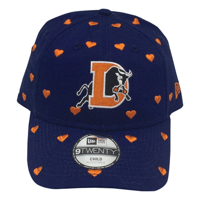 Durham Bulls New Era Kids Love Hearts 920
