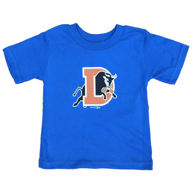Durham Bulls Infant Royal D Logo T-Shirt
