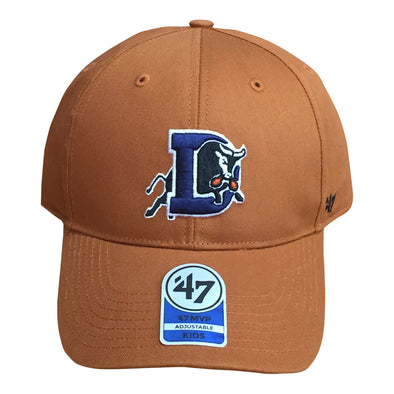 Durham Bulls 47 Brand Kids Burnt Orange Snapback Basic