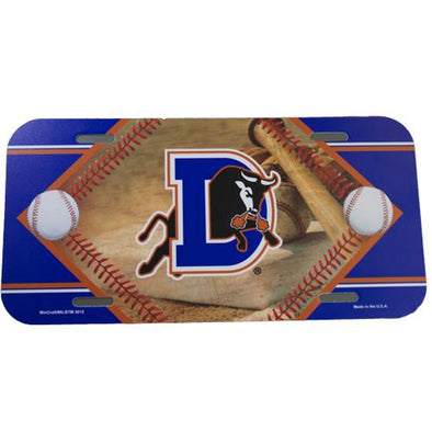 Durham Bulls License Plate