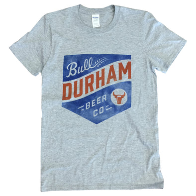 Bull Durham Beer Company Plate Logo T-Shirt