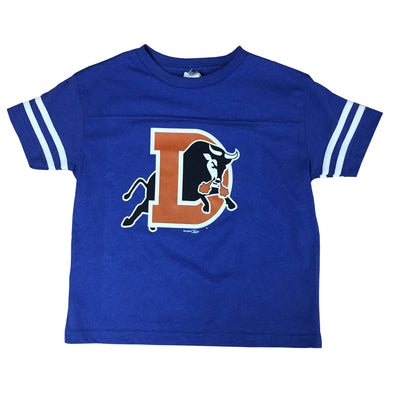 Durham Bulls Toddler Royal D Logo Sporty T-Shirt