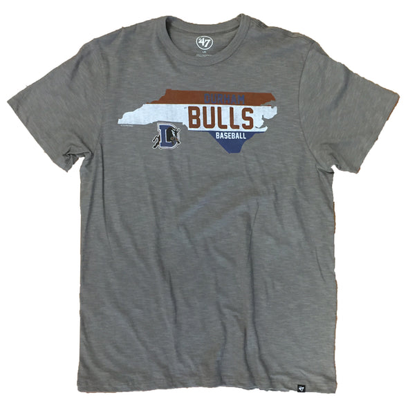 Durham Bulls Men's Scrum State T-Shirt