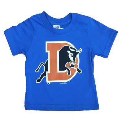 Durham Bulls Toddler Royal D Logo T-Shirt