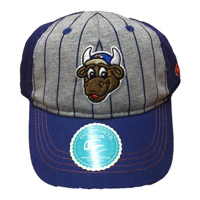 Durham Bulls Toddler Royal Bat Boy Cap